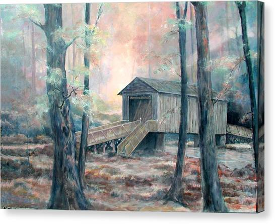 Kymulga Covered Bridge Canvas Print