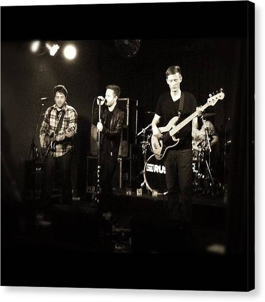 Bands Canvas Print - La Based Rock Band, The Ruse, Killing by Loghan Call