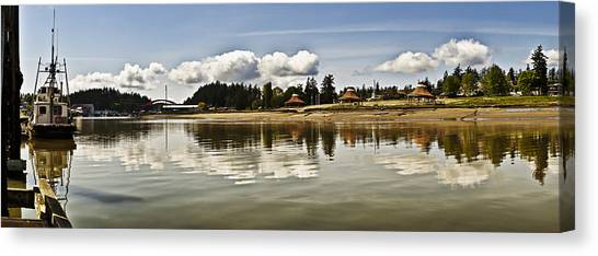 La Conner Slough  Canvas Print