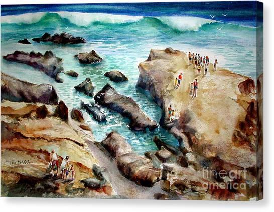 La Jolla Shores Canvas Print