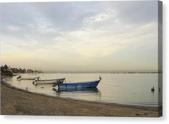 La Paz Waterfront Canvas Print