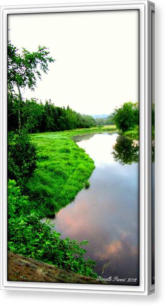 Lacwilliam  St-ferdinand Quebec Canvas Print