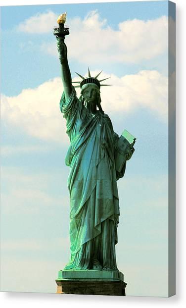 Lady Liberty Canvas Print by Artistic Photos