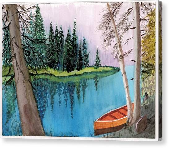 Lagoon 1 Canvas Print