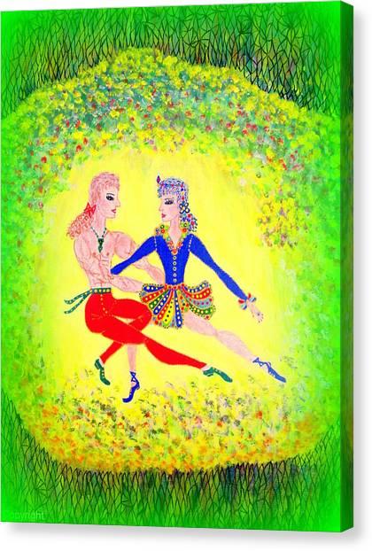 Lagoon Dancers Canvas Print