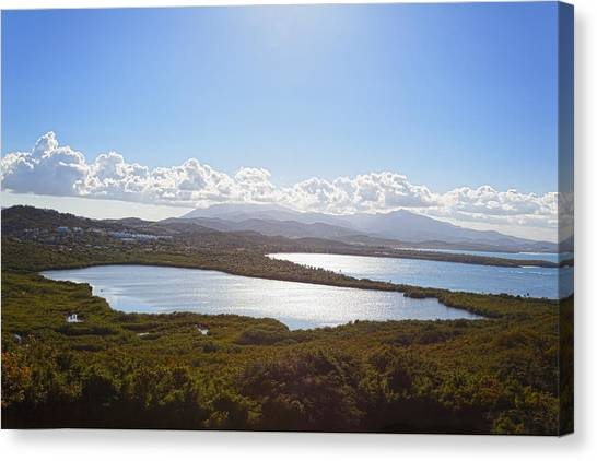 Laguna Grande  Canvas Print by George Oze