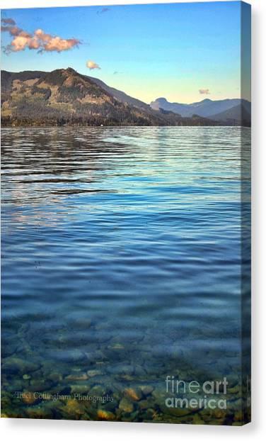 Lake Cowichan Bc Canvas Print