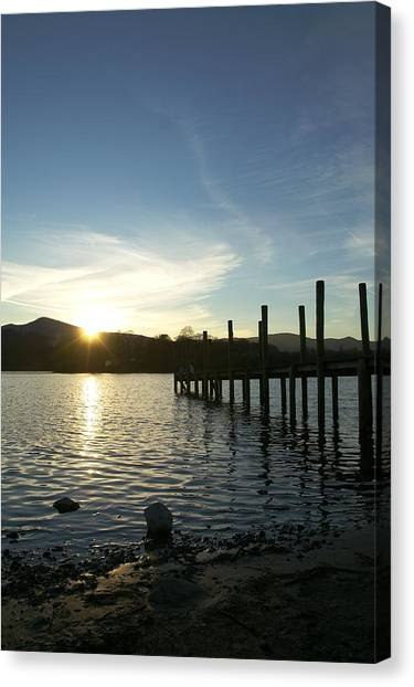 Lake District Sunset Canvas Print