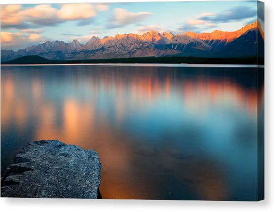 Lake Evening 1 Canvas Print