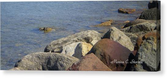 Landscapes L215 Canvas Print by Monica C Stovall