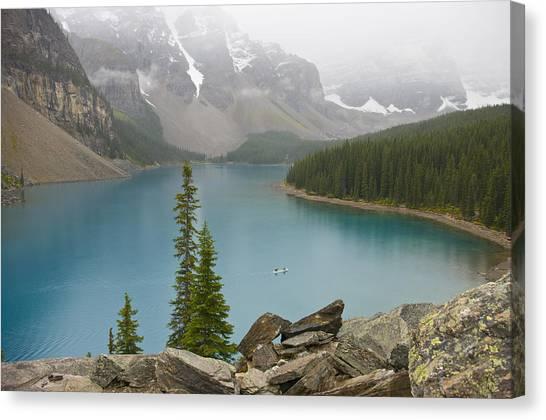 Lake Louise - 0308 Canvas Print