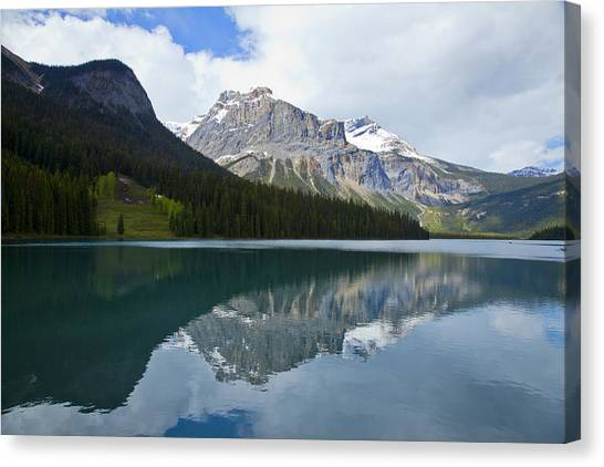 Lake Louise 1819 Canvas Print by Larry Roberson