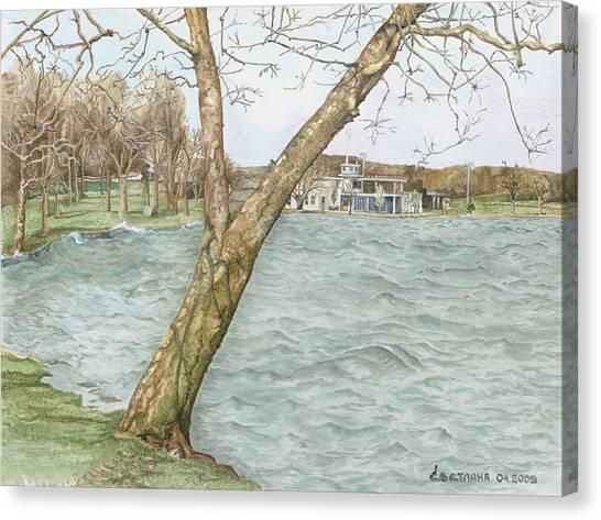 Lake Maxinkuckee Shoreline Canvas Print