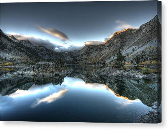 Lake Sabrina Bishop Ca Canvas Print