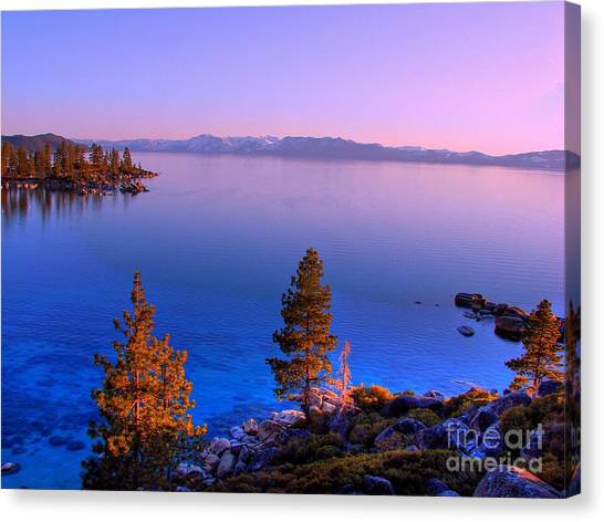Lake Tahoe Serenity Canvas Print by Scott McGuire
