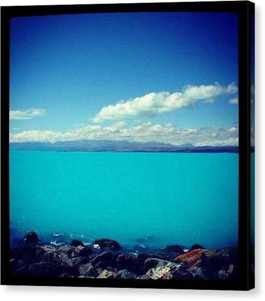 Glaciers Canvas Print - Lake Tekapo by Susannah Mchugh