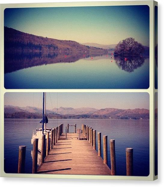 London2012 Canvas Print - Lake Windermere #manc #manchester by Conor Duffy