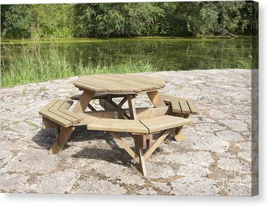 Picnic Table Canvas Prints Page Of Fine Art America - Picnic table print