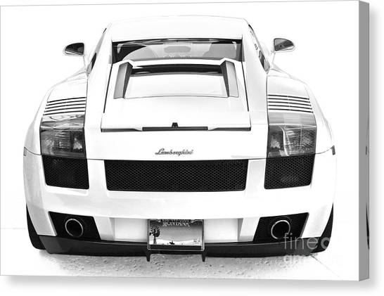 Lambo Gallardo Canvas Print