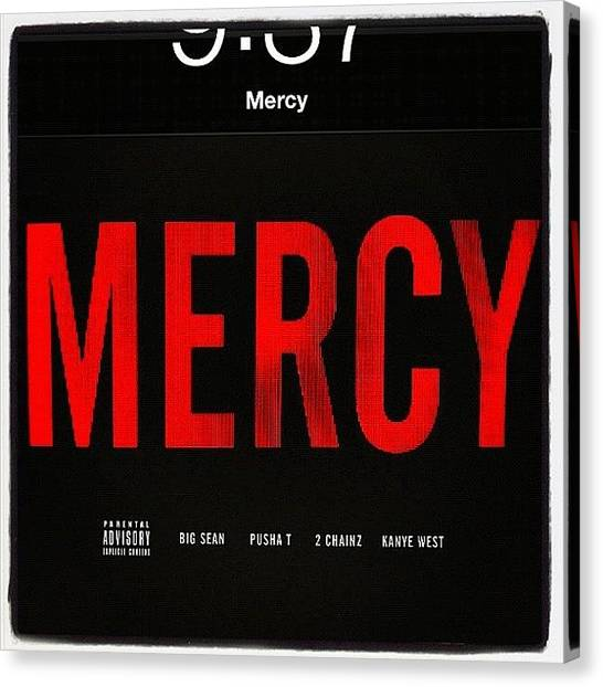 Mercy Canvas Print - Lamborghini Mercy ... 🚀 by Natalia Contreras