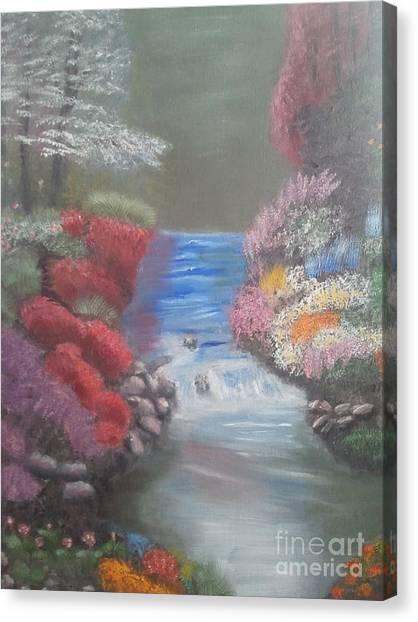 Landscape 2 Canvas Print by Lea Kirby