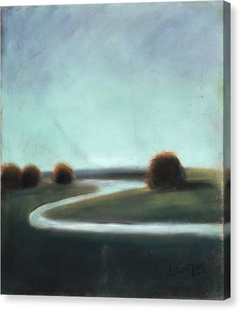 Landscape No 3 Canvas Print by L Cooper