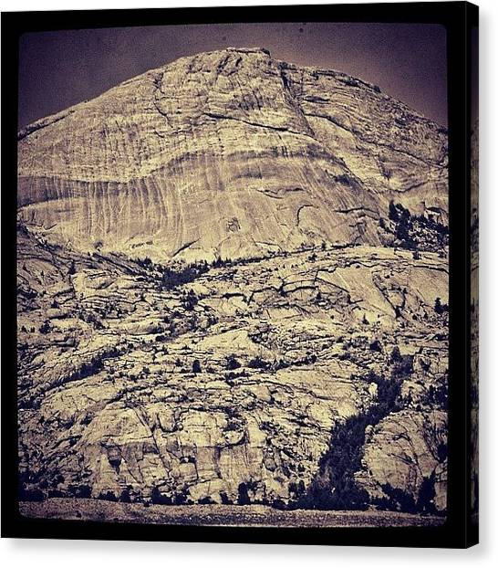 Wyoming Canvas Print - Lankin Dome, Central Wyoming. #art by Chris Bechard