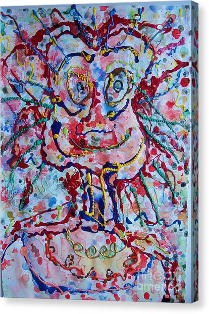 Larry Canvas Print by Bill Davis