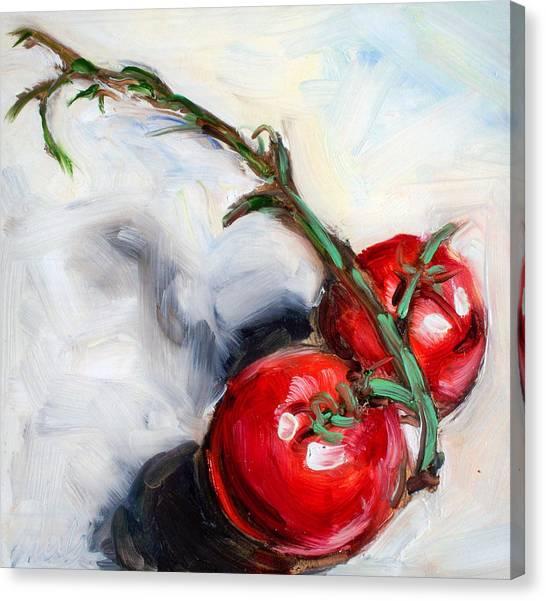 Last Two Canvas Print by Sheila Tajima