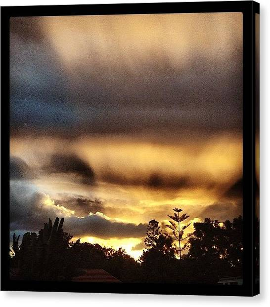 Australian Canvas Print - Late Yesterday Afternoon #sunset by Steve Guy
