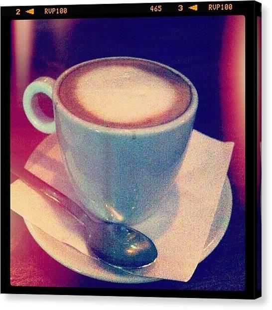 Milk Canvas Print - Latte 💛 by Xiu Ching