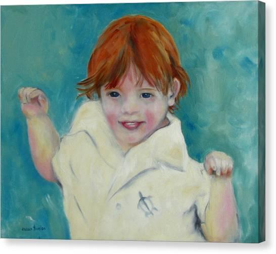 Laughter Canvas Print by Susan Hanlon