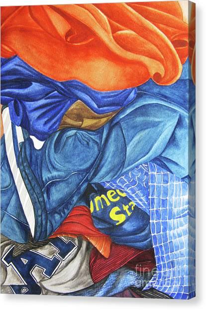 Laundry No1 Canvas Print by Mic DBernardo