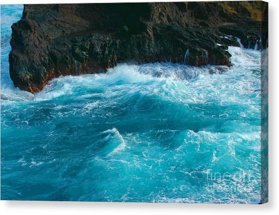 Lava Pools Hawaii-1 Canvas Print