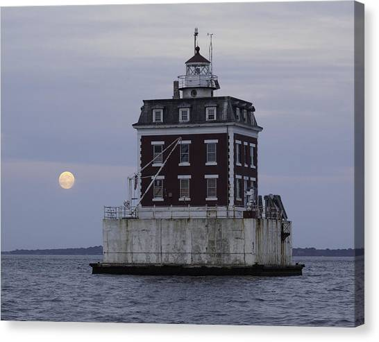 Ledge Light Canvas Print