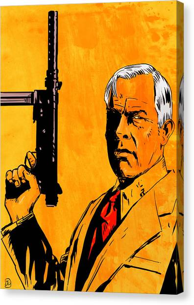 Prime Canvas Print - Lee Marvin by Giuseppe Cristiano