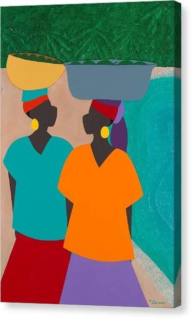 Canvas Print - Les Femmes by Synthia SAINT JAMES