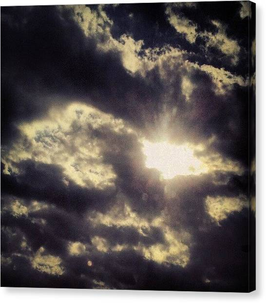 Kentucky Canvas Print - Let Your #light #shine Though- #sky by Andi Bish
