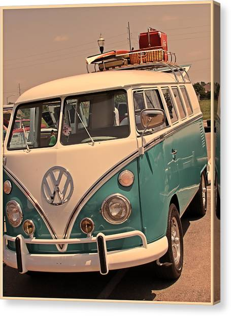 Let's Go Surf'in Canvas Print by Tony Grider