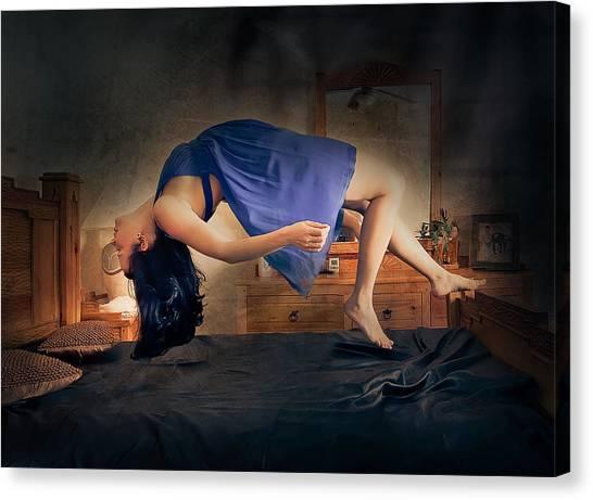 Levitation Canvas Print
