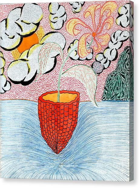 Life A Jug A Vessel Canvas Print by Yury Bashkin