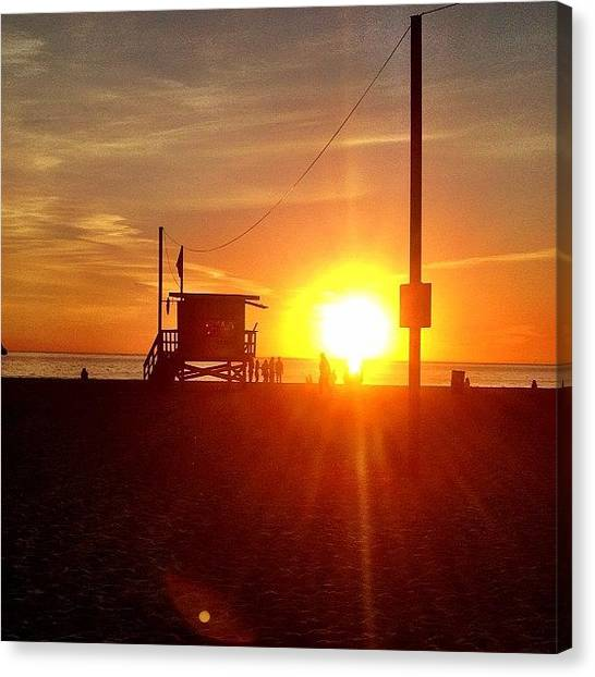 Lifeguard Canvas Print - Life Guarded | #instagram #la by Tony Macasaet
