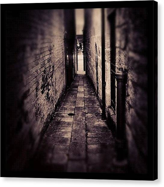 Saints Canvas Print - Light At The End Of The Tunnel by Kendall Saint