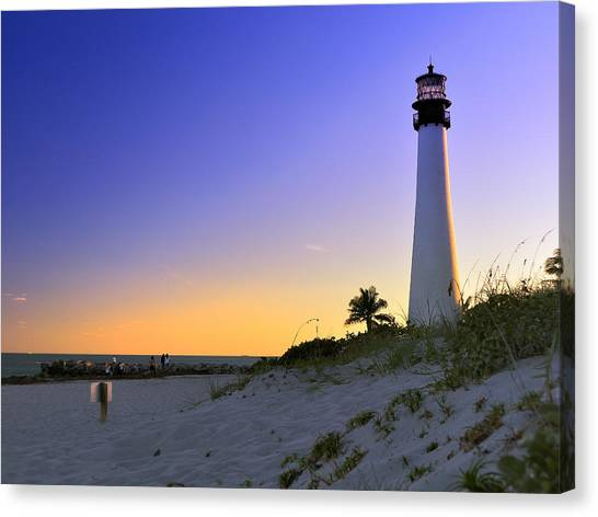 Light House Canvas Print by Andres LaBrada