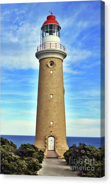 Light House At Cape Du Couedic Canvas Print