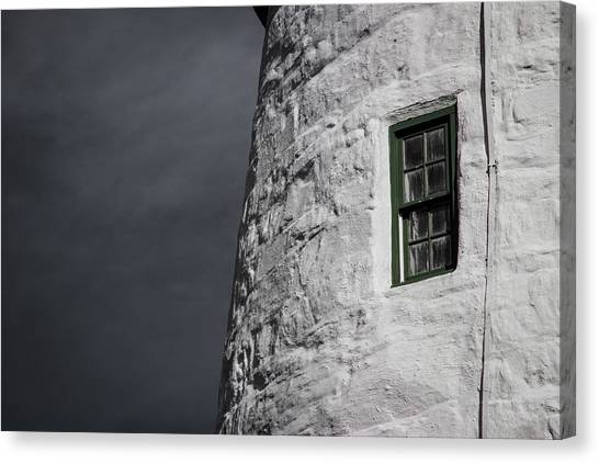 Light House Window Canvas Print by Vintage Pix