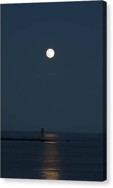Light Of The Moon Canvas Print