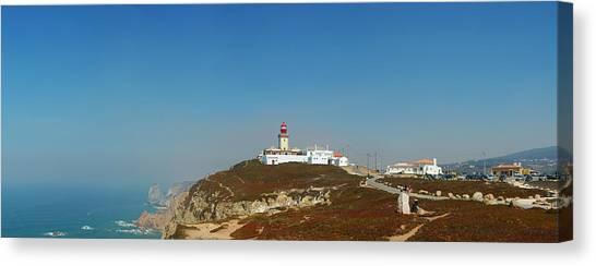 Lighthouse At Cabo Da Roca Canvas Print