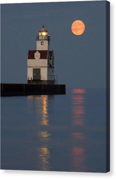 Lighthouse Companion Canvas Print