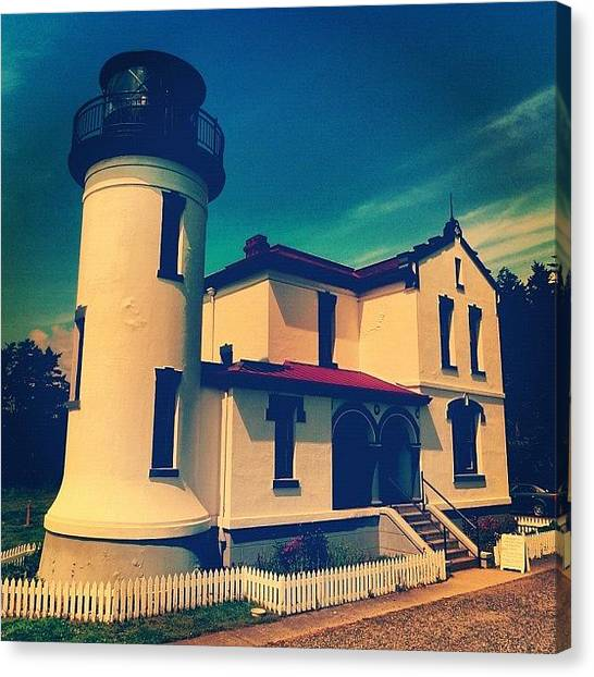 Lighthouses Canvas Print - Lighthouse by T Catonpremise